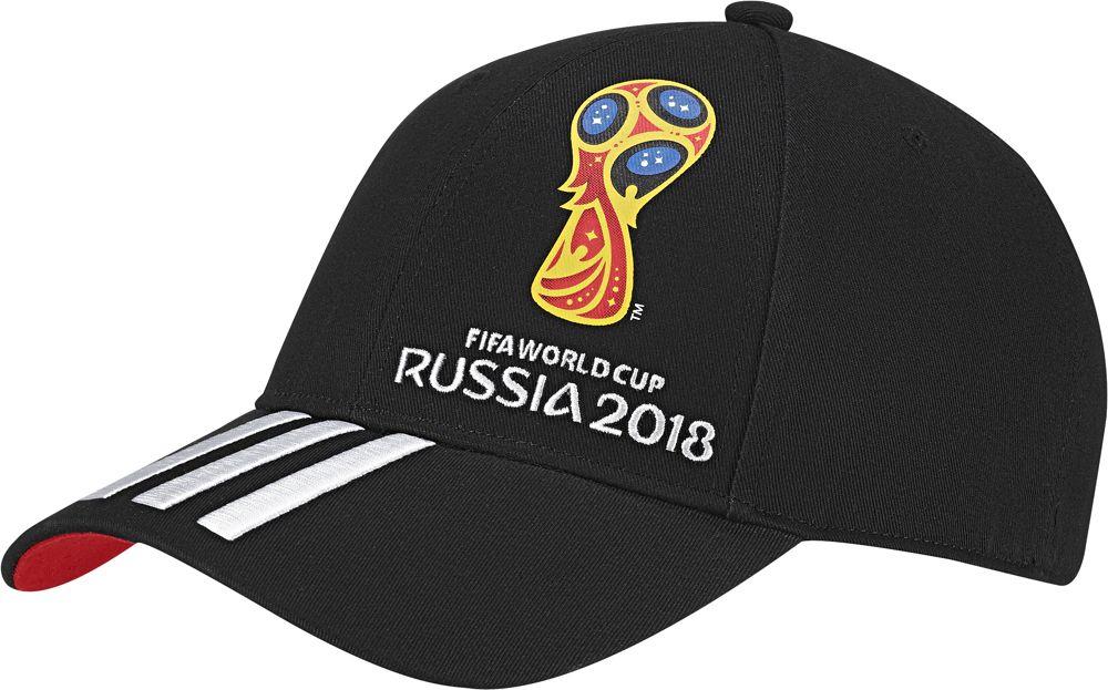 Бейсболка мужская Adidas OE Cap, цвет: черный, красный, белый. CF3399. Размер 56/58