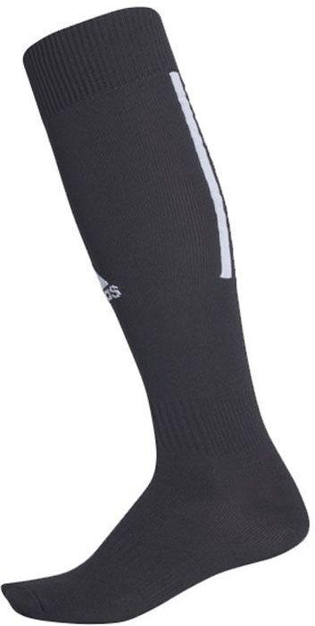 Футбольные гетры Adidas Santos Sock 18 выполнены из полиэстера с добавлением нейлона и эластана. Модель оформлена контрастными полосками и фирменным логотипом бренда.
