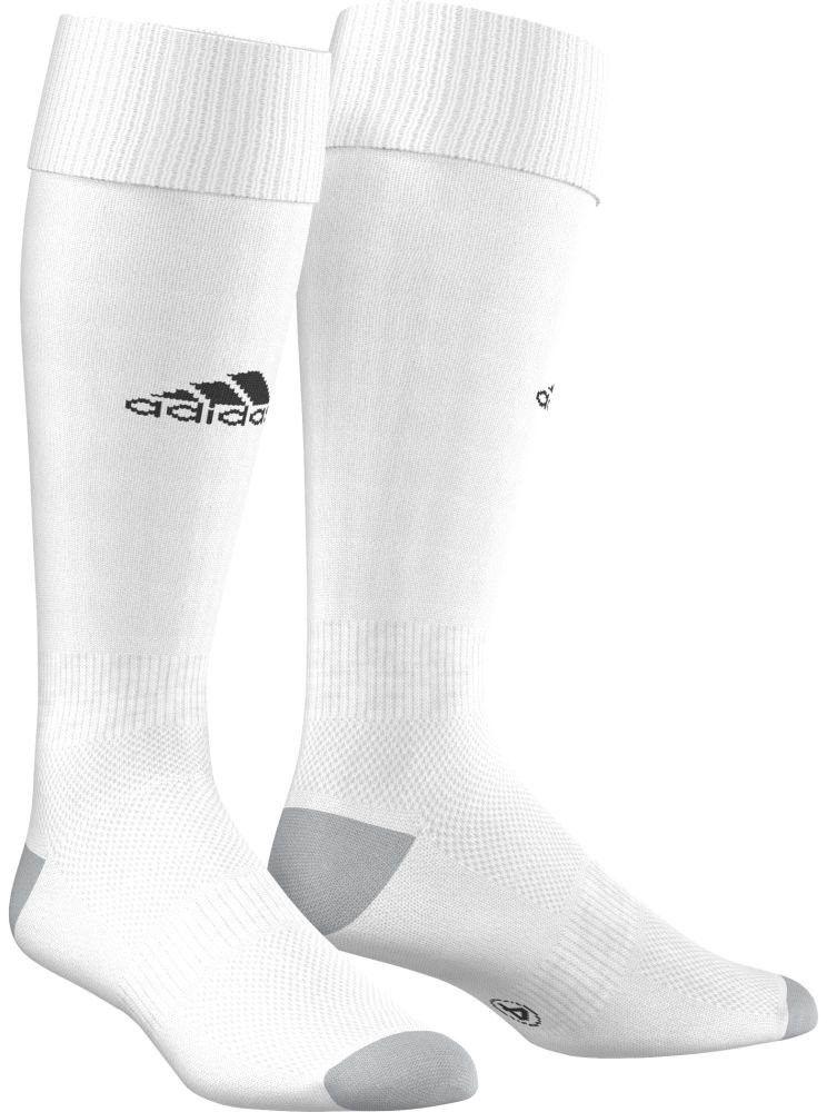 В футболе важна каждая деталь твоей экипировки, особенно та, которая защищает твои ноги. В гетрах Milano 16 Sock от Adidas с дышащими сетчатыми вставками и анатомической системой амортизации ты сможешь уверенно показать все свое мастерство на поле.Гетры имеют рифленые манжеты, щиколотку и подъем стопы.