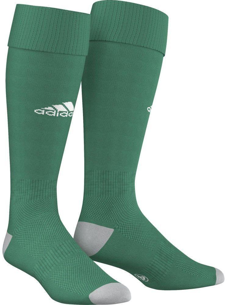Гетры футбольные мужские Adidas Milano 16 Sock, цвет: зеленый, белый. AJ5908. Размер 37/39AJ5908В футболе важна каждая деталь твоей экипировки, особенно та, которая защищает твои ноги. В гетрах Milano 16 Sock от Adidas с дышащими сетчатыми вставками и анатомической системой амортизации ты сможешь уверенно показать все свое мастерство на поле.Гетры имеют рифленые манжеты, щиколотку и подъем стопы.