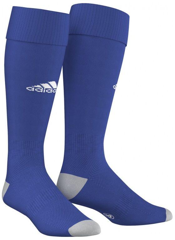 Гетры футбольные мужские Adidas Milano 16 Sock, цвет: синий, белый. AJ5907. Размер 40/42AJ5907В футболе важна каждая деталь твоей экипировки, особенно та, которая защищает твои ноги. В гетрах Milano 16 Sock от Adidas с дышащими сетчатыми вставками и анатомической системой амортизации ты сможешь уверенно показать все свое мастерство на поле.Гетры имеют рифленые манжеты, щиколотку и подъем стопы.