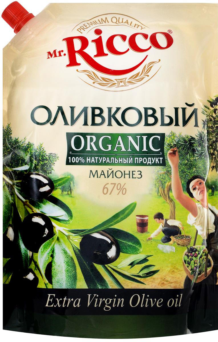 Mr.Ricco Майонез Organic Оливковый, 67%, 800 мл био масло рапсовое auchan 750мл