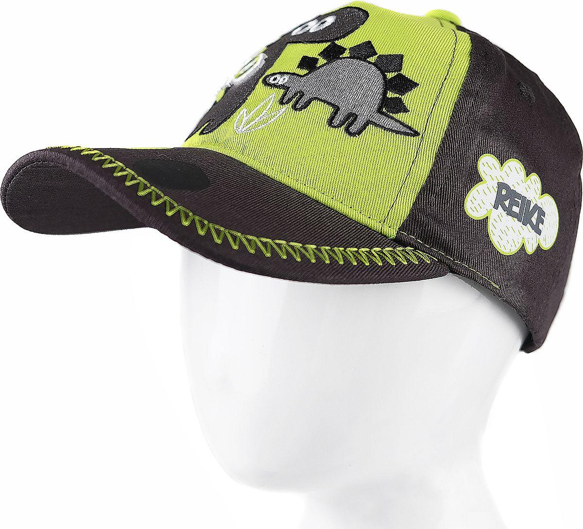 Бейсболка для мальчика Reike, цвет: зеленый. RWSS18_DNS-1 green. Размер 48 блуза sweewe sweewe sw007ewbcys4
