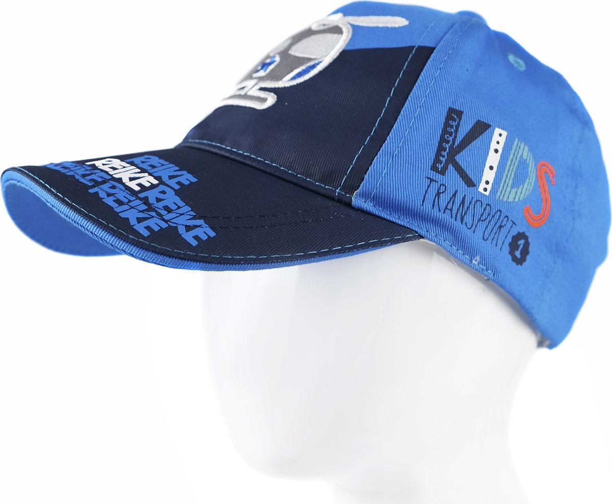 Бейсболка для мальчика Reike, цвет: синий. RWSS18_TRV-1 blue. Размер 50RWSS18_TRV-1 blueБейсболка для мальчика Reike, изготовленная из натурального хлопка, станет стильным аксессуаром во время прогулок и игр на свежем воздухе, защищая голову ребенка от солнца.Уважаемые клиенты!Размер, доступный для заказа, является обхватом головы.
