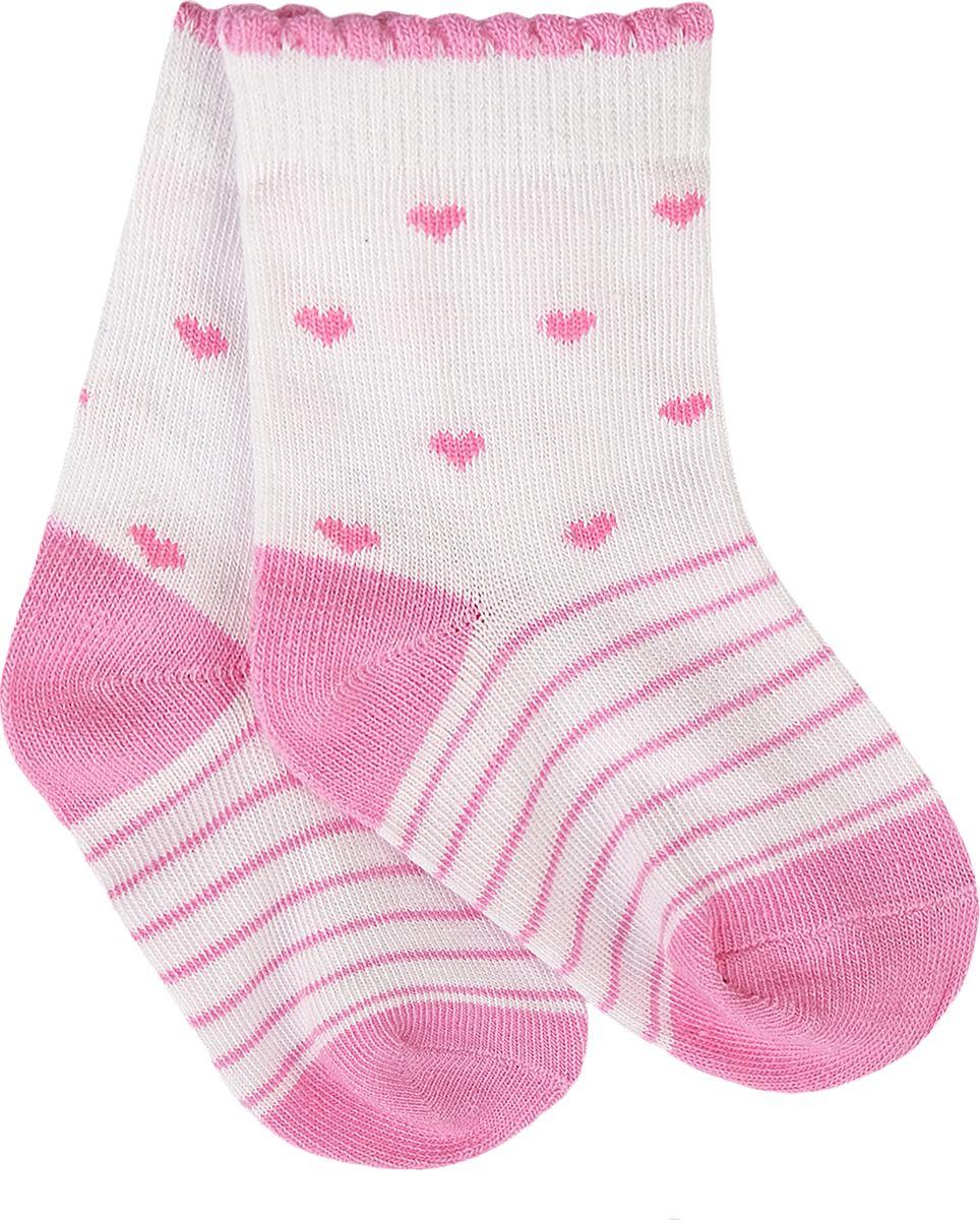 Носки для девочки Reike, цвет: розовый. RSK18_BS8 pink. Размер 18RSK18_BS8 pinkНоски для девочки выполнены из хлопка с добавлением полиэстера и полиуретана. Эластичная резинка мягко облегает ножку ребенка. Усиленные пятка и мысок обеспечивают надежность и долговечность.