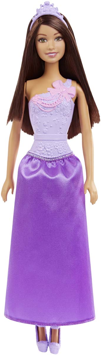 Barbie Кукла Принцесса цвет фиолетовый DMM06_DMM08 barbie кукла супер герой barbie цвет одежды фиолетовый