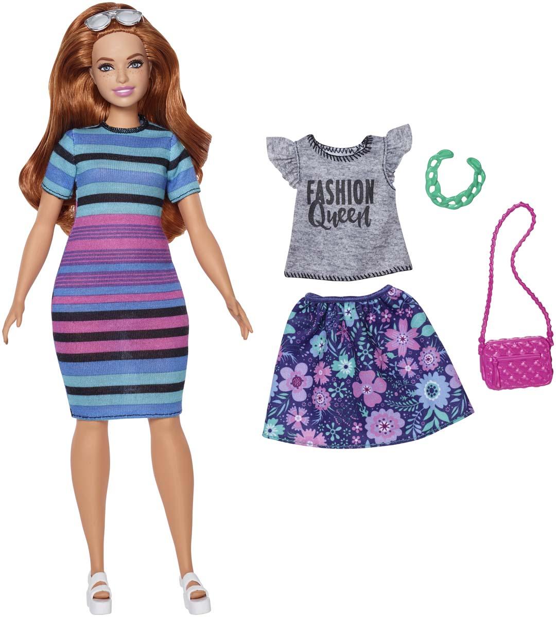 Barbie Кукла Игра с модой FJF67_FJF69 barbie кукла fashionistas plaid on plaid