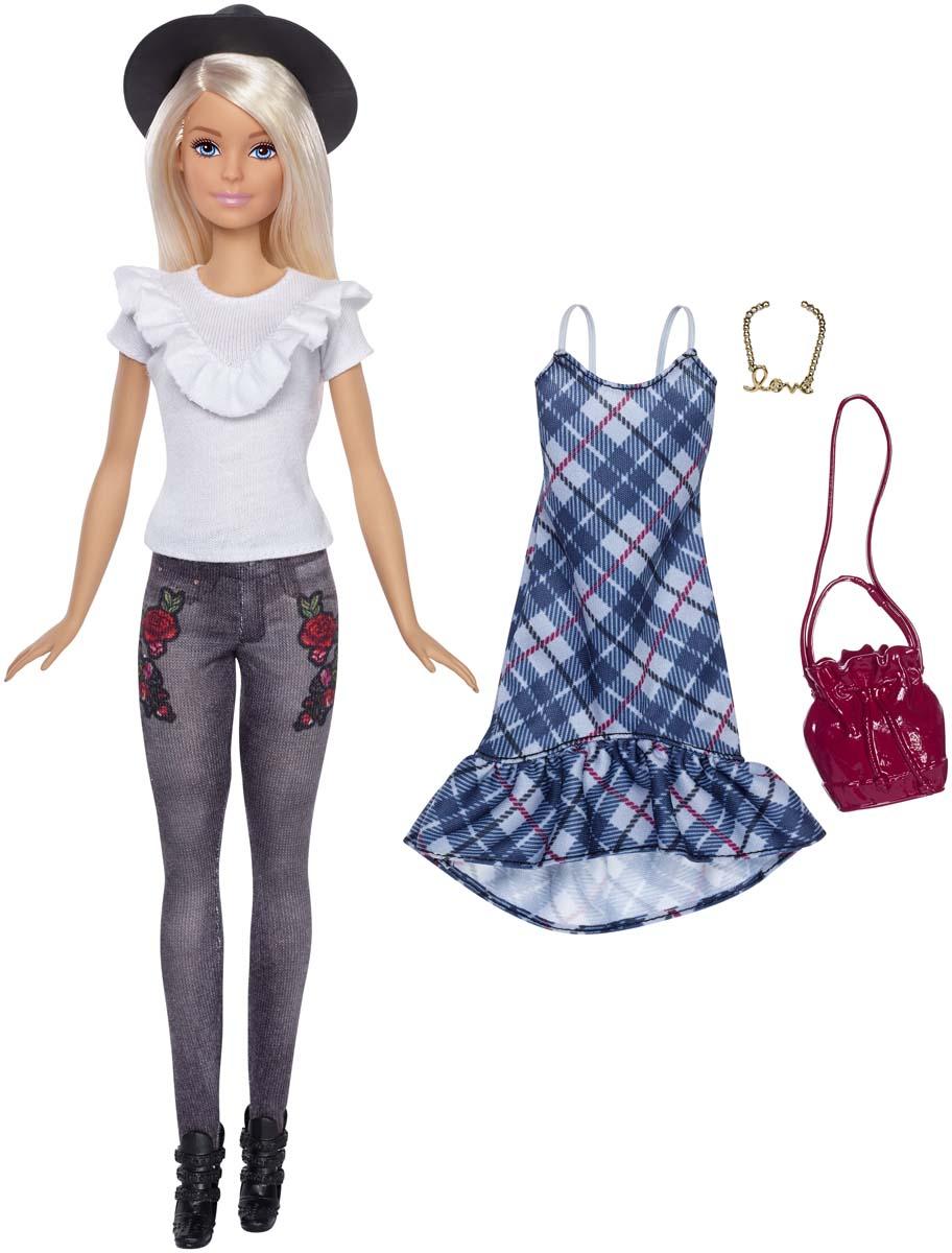 Barbie Кукла Игра с модой FJF67_FJF68 barbie кукла fashionistas plaid on plaid