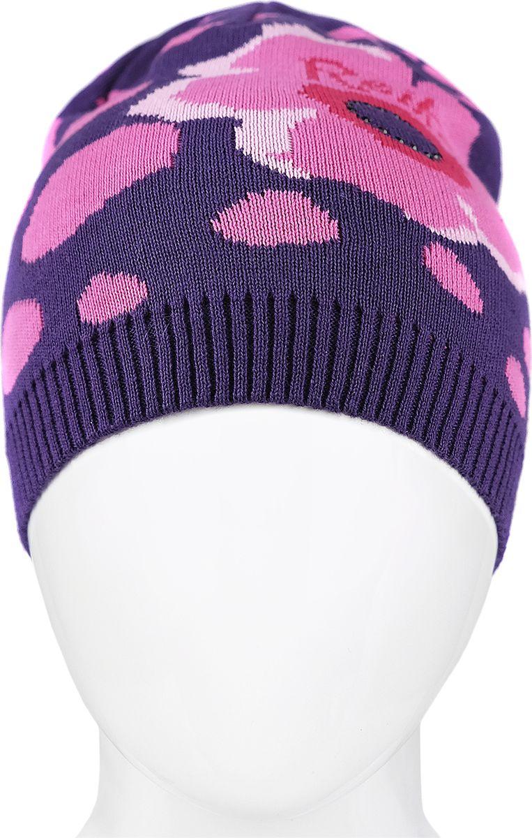 Шапка для девочки Reike, цвет: фиолетовый. RKNSS18_MAQ-YN-1 violet. Размер 54RKNSS18_MAQ-YN-1 violetСтильная шапка для девочки Reike, изготовленная из качественного хлопкового материала, отлично впишется в гардероб ребенка.Уважаемые клиенты!Размер, доступный для заказа, является обхватом головы.