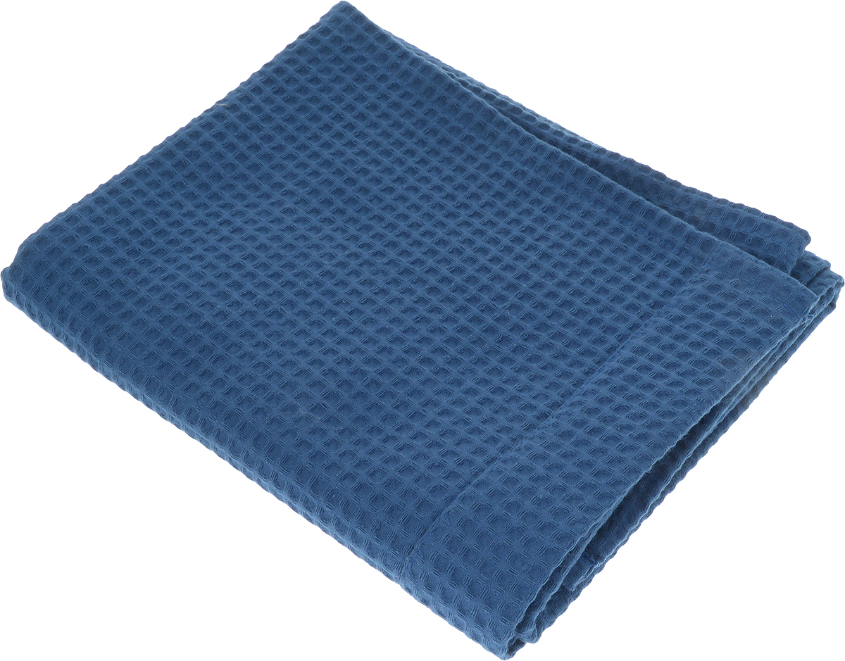 Простыня для бани и сауны Доктор Баня, цвет: синий, 150 х 70 см