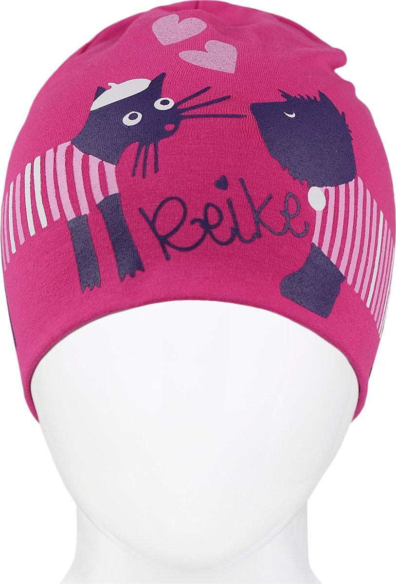 Шапка для девочки Reike, цвет: фуксия. RKNSS18_PRS-1 fuchsia. Размер 50RKNSS18_PRS-1 fuchsiaСтильная шапка для девочки Reike, изготовленная из качественного хлопкового материала, отлично впишется в гардероб ребенка.Уважаемые клиенты!Размер, доступный для заказа, является обхватом головы.