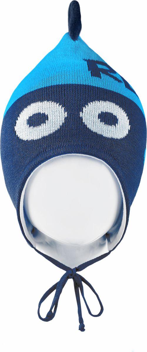 Шапка для мальчика Reike, цвет: синий. RKNSS18_DNS-YN-1 blue. Размер 46RKNSS18_DNS-YN-1 blueШапка на завязках Reike изготовлена из 100% хлопка. Модель с хлопковой подкладкой дополнительно утеплена на ушках.Уважаемые клиенты!Размер, доступный для заказа, является обхватом головы.