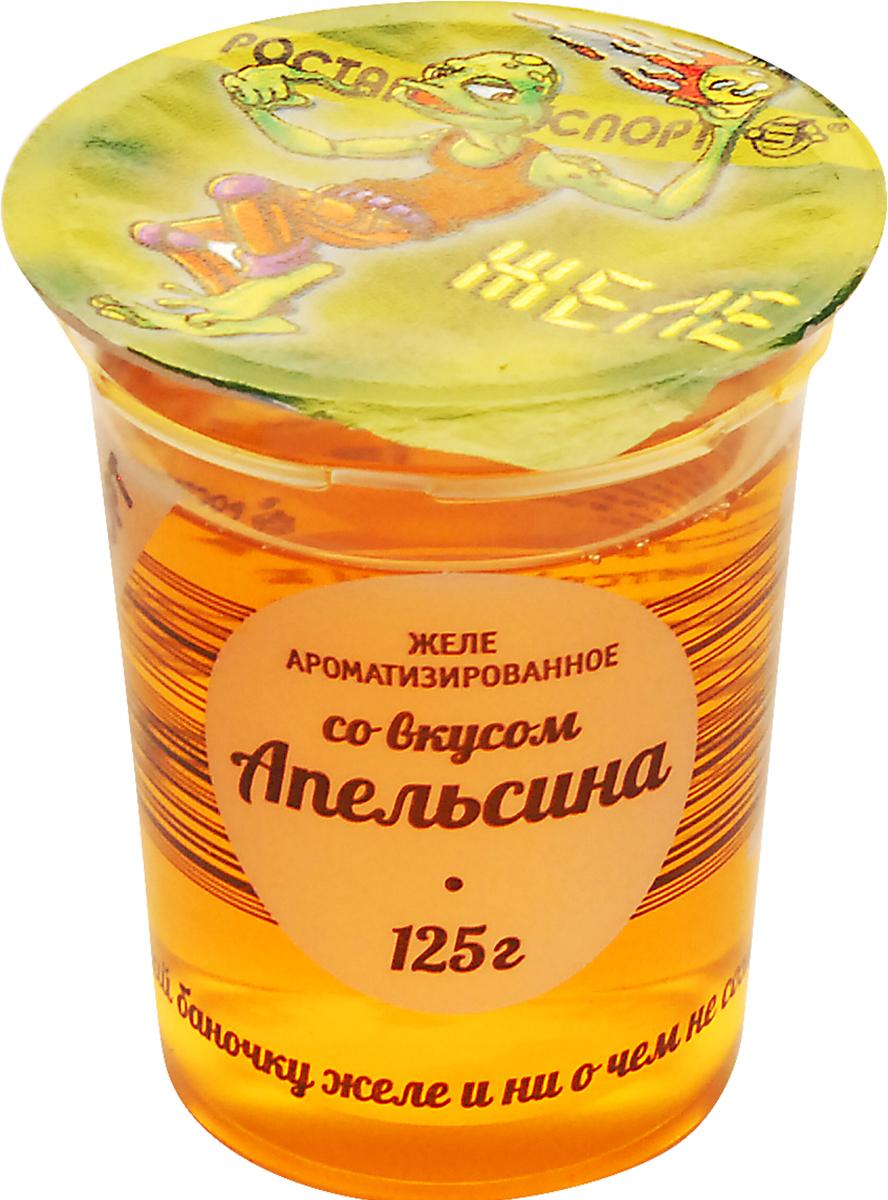 Ростагроэкспорт Желе Апельсин, 125 г ростагроэкспорт желе абрикос с фруктами 150 г