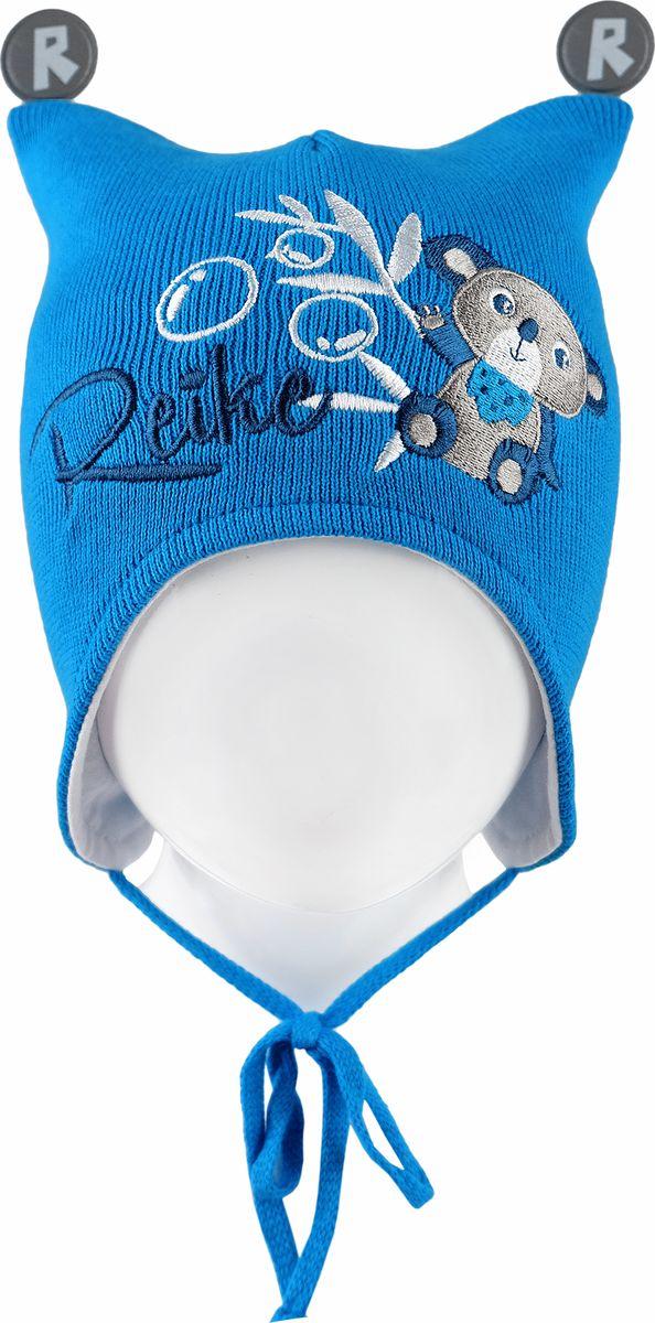Шапка для мальчика Reike, цвет: синий. RKNSS18_KL-YN-2 blue. Размер 44RKNSS18_KL-YN-2 blueШапка на завязках Reike изготовлена из 100% хлопка. Модель с хлопковой подкладкой дополнительно утеплена на ушках.Уважаемые клиенты!Размер, доступный для заказа, является обхватом головы.