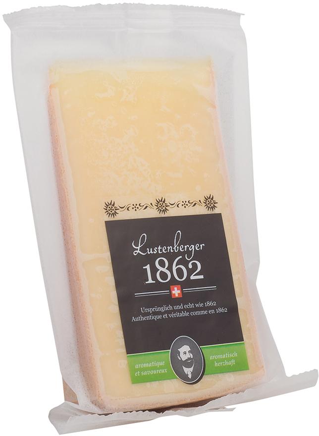Le Superbe Lustenberger 1862 Сыр Пикантный 50%, 200 г72008Сыр с пикантным ароматом. Всё началось 150 лет назад в Энтлебухе: с большой любовью и увлечением основатель компании Морис Лустенбергер совершенствовал производство 100% натурального сыра. На это повлияла природа Этленбуха, окруженного соснами, горными лугами и свежим воздухом. До сих пор этот сыр производится по старинному рецепту из самого лучшего непастеризованного коровьего молока. Изготовленный в традициях ремесленного производства, сыр созревает под наблюдением сыроваров в течение 180 дней в семейном погребе и приобретает особенный фруктово-пряный вкус - такой подлинный, как сама Швейцария.