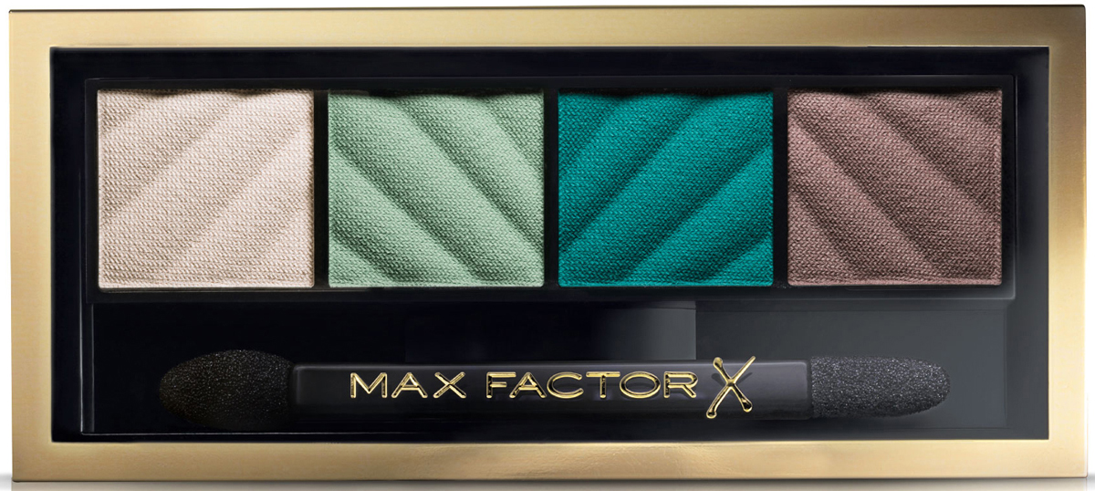 Max Factor Тени для век и Пудра для бровей Smokey Eye Matte Drama Kit 2в1, тон №40 Hypnotic Jade, 3 г тени для век max factor smokey eye drama kit 2 in 1 03 цвет 03 sumptuous golds variant hex name cd9a7b вес 50 00
