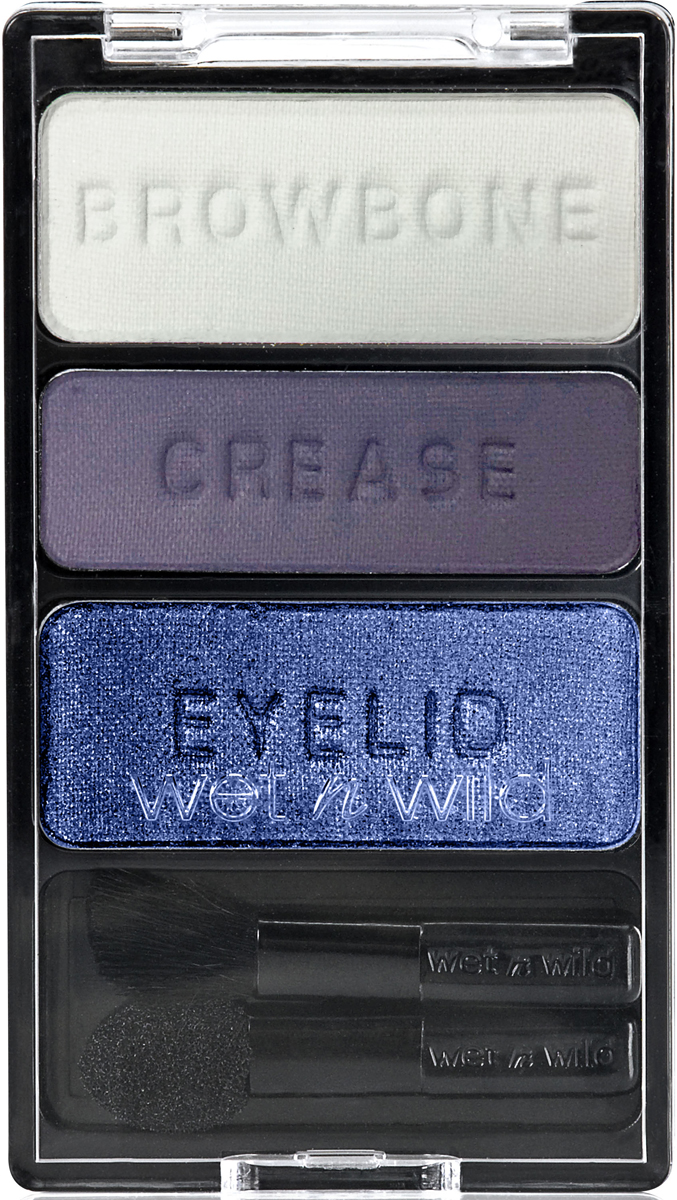 Wet n Wild Тени для век Трио Color Icon Eyeshadow Trio, тон Can`t Touch This, 4 г
