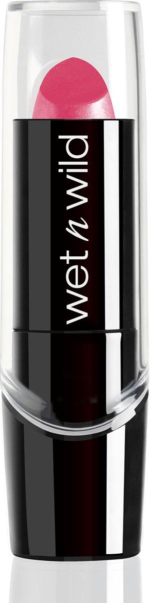 Wet n Wild Помада для губ Silk Finish Lipstick, тон Pink Ice, 3,6 млE504AФормула этой помады обладает насыщенным цветом, обогащена витаминами А и Е, и экстрактом алое вера, создает эффект шелка на губах. Ничем не уступает дорогим аналогам.