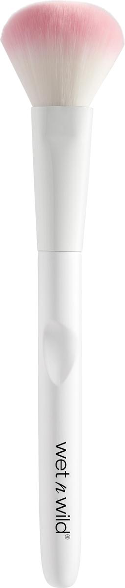 Wet n Wild Кисть для нанесения макияжа Brush Powder Brush расческа wet brush wet brush we018lwzxw97