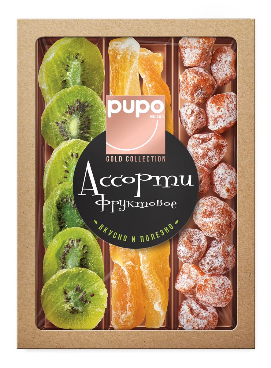 PUPO GOLD COLLECTION - это отборные сочные фрукты, вяленые прямо под лучами жаркого солнца. Прошедшие натуральную сушку, они содержат максимум витаминов и микроэлементов. Фрукты PUPO GOLD COLLECTION обладают естественной сладостью, душистым ароматом и заряжают энергией. Они станут любимым десертом для всех членов семьи, которая заботится о здоровье.