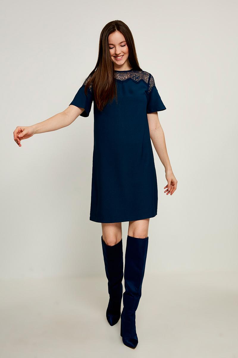 Платье Zarina, цвет: синий. 8123040540040. Размер 44 платье zarina цвет синий 8123002502056 размер 50