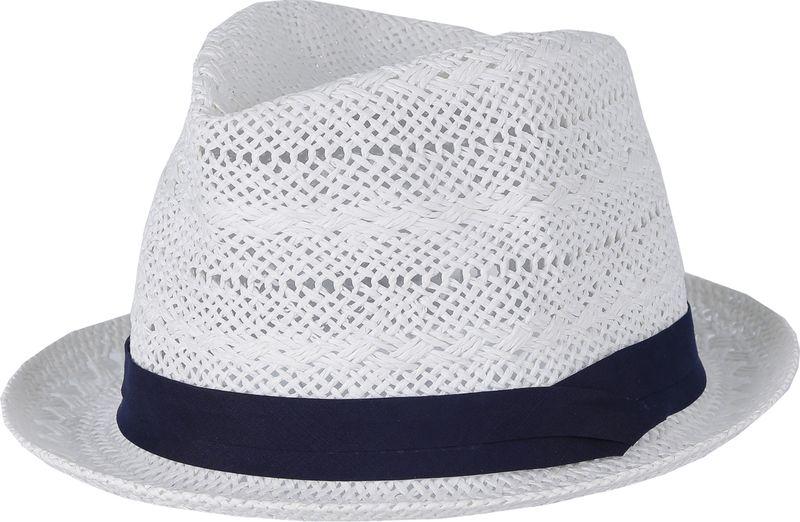 Соломенная шляпа женская Fabretti, цвет: белый. GL26. Размер 56/59