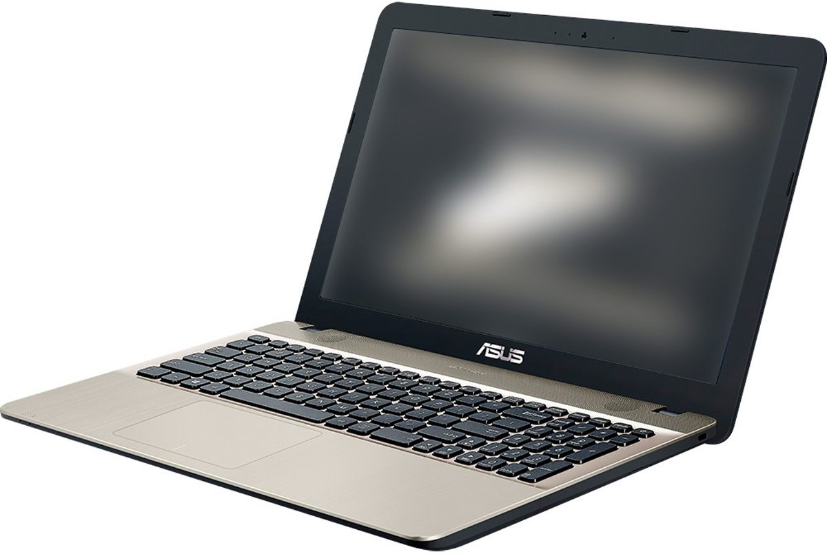 ASUS VivoBook Max X541UV, Black (X541UV-DM1470D)522215Ноутбук ASUS VivoBook Max X541UV отличается великолепными мультимедийными возможностями.Оснащенный мощным процессором Intel Core i3 шестого поколения и видеокартой NVIDIA GeForce 920MX, онсправятся с самыми ресурсоемкими задачами. Эксклюзивная аудиотехнология SonicMaster со программнымисредствами ICEpower обеспечивает беспрецедентное для мобильных компьютеров качество звучания.Аудиотехнология SonicMaster с программными средствами ICEpower обеспечивает кристально чистый звук. Вданной модели ноутбука используются 3-ваттные динамики с увеличенной резонансной камерой (объемом 24см3) и специальной трансмиссионной линией для мощного и чистого звучания в широком частотном диапазоне.Кроме того, динамики ноутбука подвергаются высокоточной настройке для гарантированно высокого качествазвучания.Для настройки звучания служит функция AudioWizard, предлагающая выбрать один из пяти вариантов работыаудиосистемы, каждый из которых идеально подходит для определенного типа приложений (музыка, фильмы,игры и т.д.).Технология ASUS TruLife Video оптимизирует резкость и контрастность видео на уровне отдельных пикселейдля более точной передачи оттенков и улучшения качества изображения в целом.Короткие электромагнитные волны, соответствующие пурпурно-синему краю спектра, обладают большейэнергией, поэтому оказывают более сильный эффект на сетчатку глаза. В режиме ASUS Eye Care реализованафильтрация этой составляющей видимого спектра для повышения комфорта при чтении и снижения вредноговлияния синего света на зрение.Высокая вычислительная мощь ноутбука ASUS VivoBook Max X541UV гарантирует быструю работу любых, дажесамых ресурсоемких, приложений. В аппаратную конфигурацию входят современный процессор IntelCore i3-6006U, видеокарта NVIDIA GeForce GT 920MX, 8 гигабайт оперативной памяти (с возможностьюрасширениядо 16 ГБ) и операционная система DOS. Для хранения файлов имеется жесткий диск емкостью 1 ТБ.Ноутбук ASUS VivoBook Max X541UV оборудов