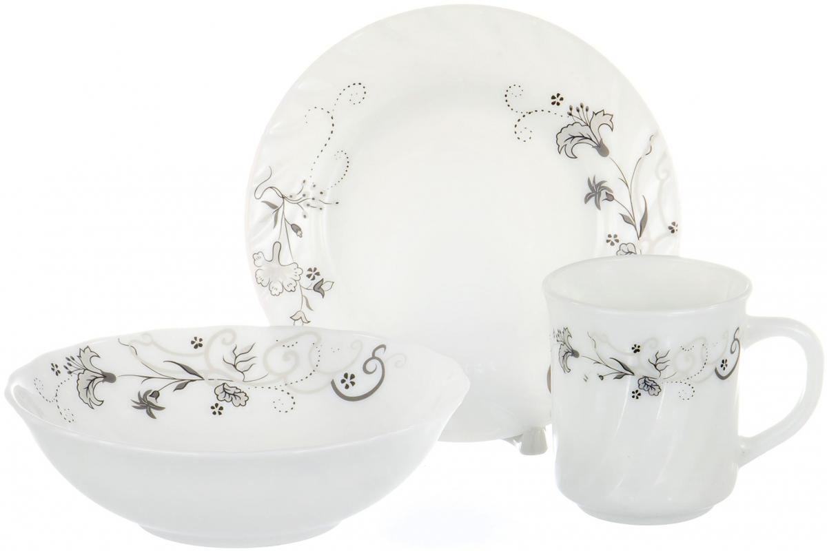 Набор столовой посуды Olaff, 3 предмета. CB-3BS-0316