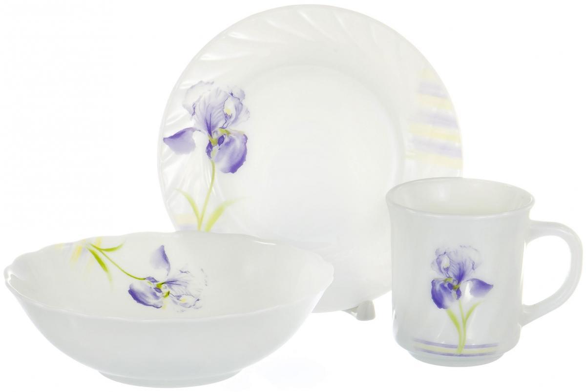 Набор столовой посуды Olaff, 3 предмета. CB-3BS-0833