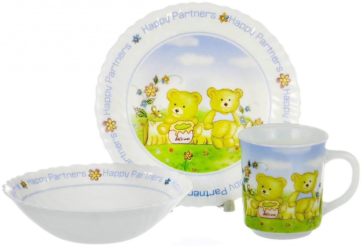 Набор для завтрака Olaff Children, 3 предмета. CB-3BS-CH-1065