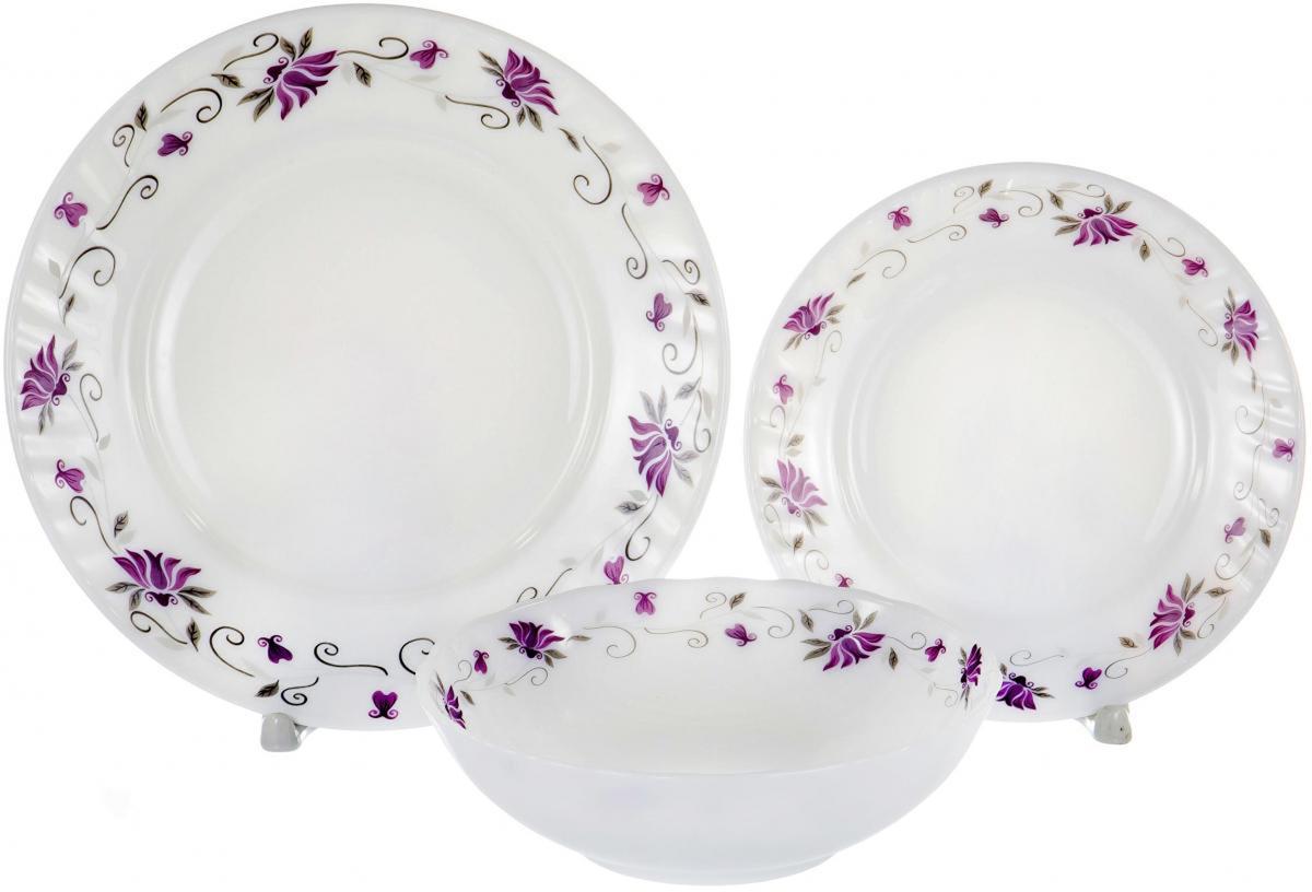 Набор столовой посуды Olaff Эстелла, 18 предметов набор столовой посуды olaff эстелла