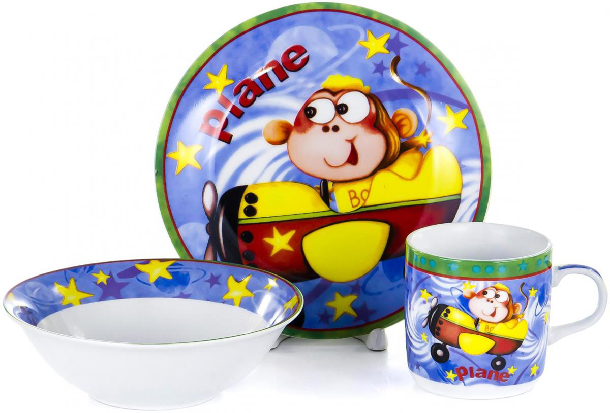 Набор для завтрака Olaff Children, 3 предмета. LX-3PCS-C135