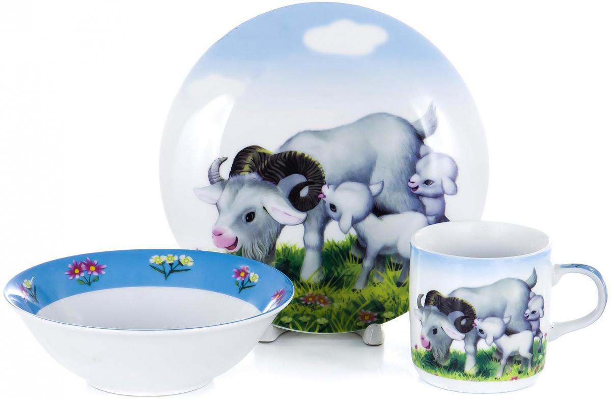Набор для завтрака Olaff Children, 3 предмета. LX-3PCS-C287