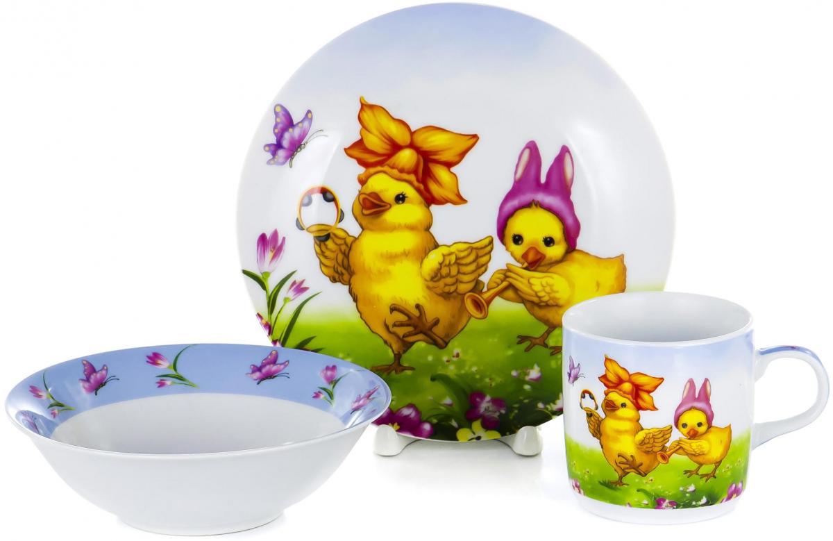 Фото - Набор для завтрака Olaff Children, 3 предмета. LX-3PCS-C392 набор школьниика barbie
