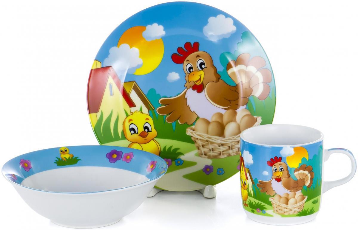Набор для завтрака Olaff Children, 3 предмета. LX-3PCS-C439