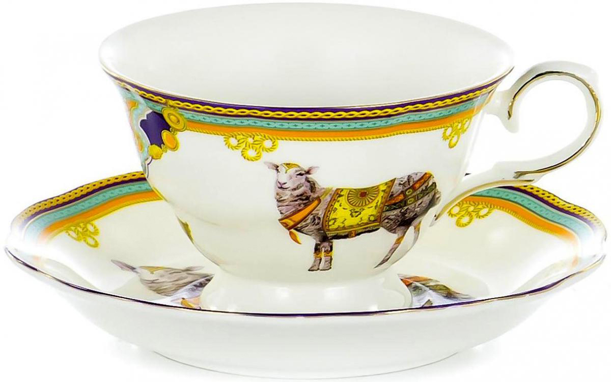Чайная пара Olaff, 2 предмета. XXY-BJM4530XXY-BJM4530Чайная пара Olaff состоит из чашки и блюдца. Набор изготовлен из высококачественного фарфора и оформлен стильным рисунком. Такой набор подходит для подачи чая. Изящный дизайн придется по вкусу и ценителям классики, и тем, кто предпочитает утонченность и изысканность. Он настроит на позитивный лад и подарит хорошее настроение с самого утра. Чайный набор Olaff - идеальный и необходимый подарок для вашего дома и для ваших друзей в праздники.