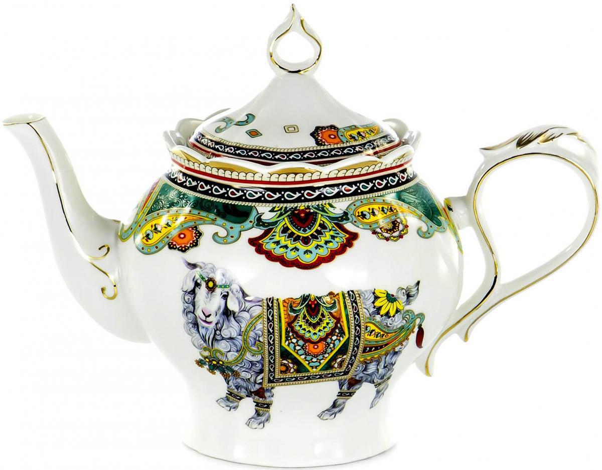 Чайник заварочный Olaff TEAPOT, 1,4 л. XXY-YPS4538XXY-YPS4538TEAPOT, чайник 1400мл, JADE PORCELAIN, подарочная упаковка