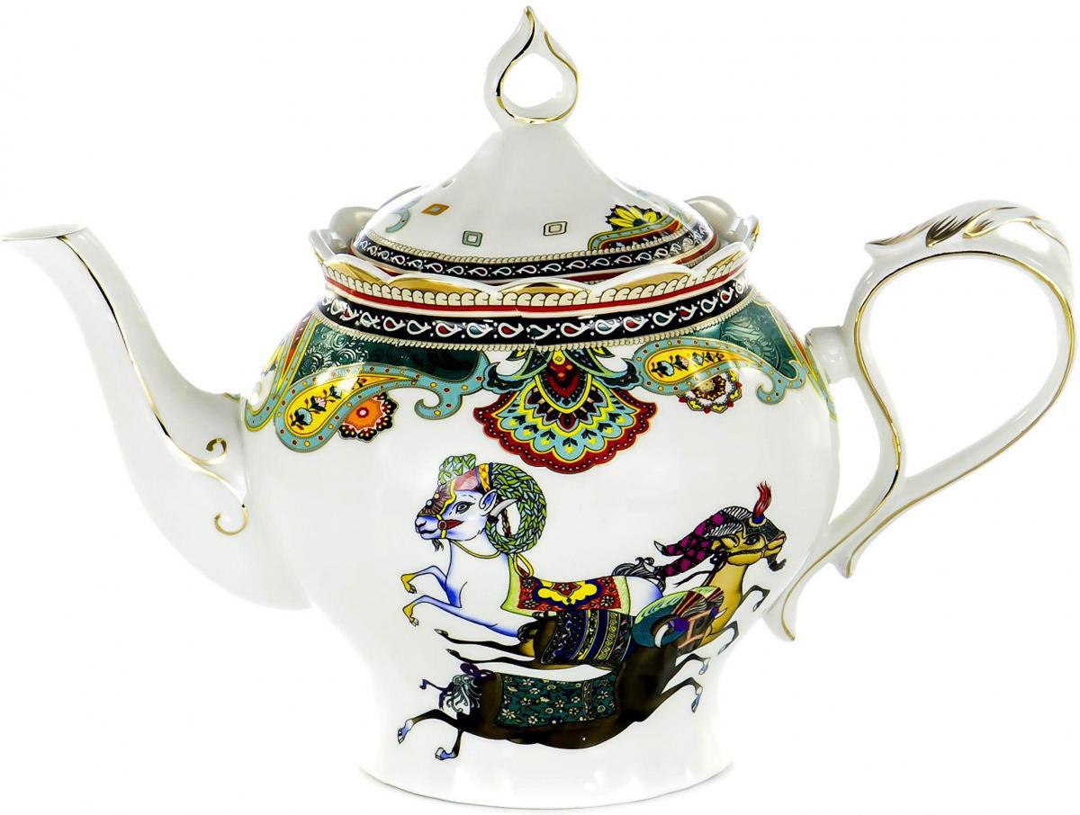 Чайник заварочный Olaff TEAPOT, 1,4 л. XXY-YPS4539XXY-YPS4539TEAPOT, чайник 1400мл, JADE PORCELAIN, подарочная упаковка