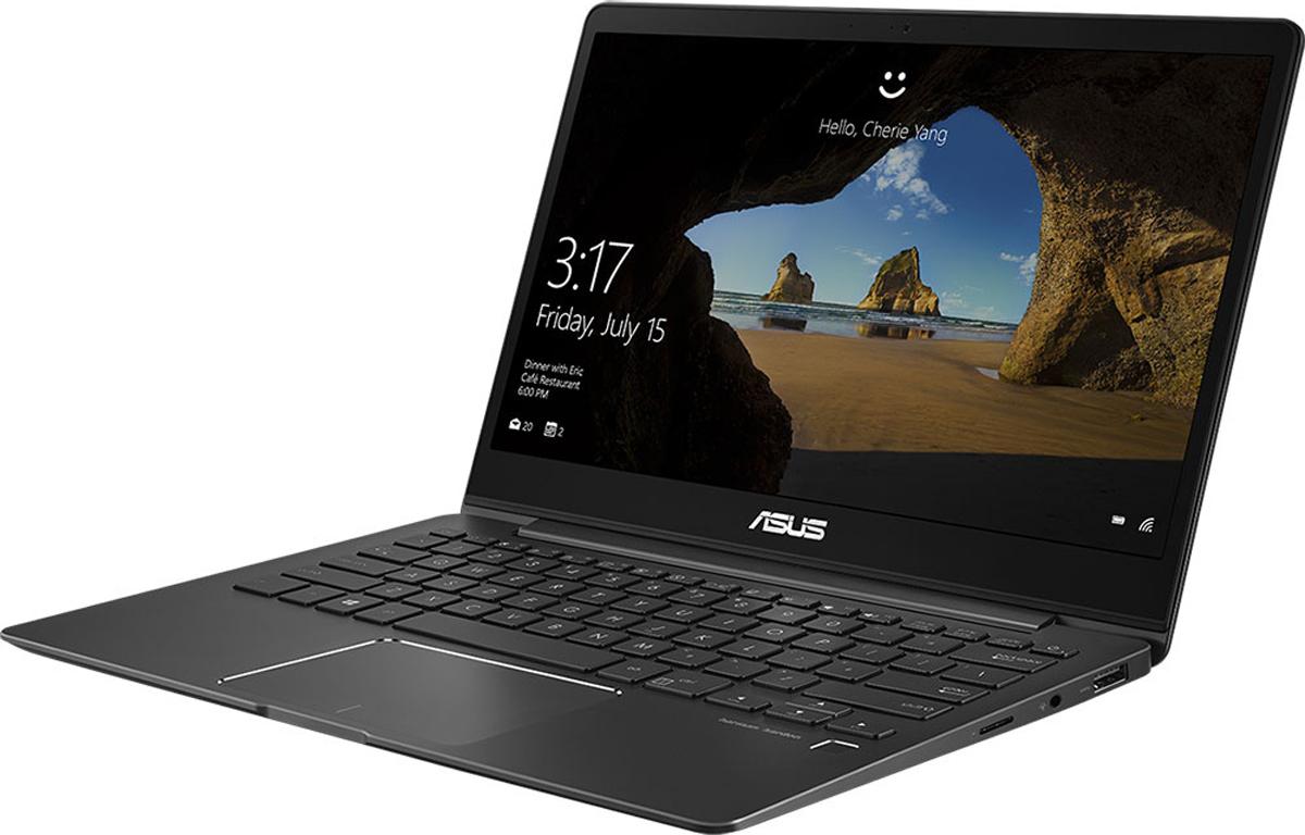 ASUS ZenBook 13 UX331UA-EG057T, Grey + чехол538887ASUS ZenBook 13 UX331UA - это элегантность и стильный дизайн, которые вы привыкли ожидать от ультрабуковсерии ZenBook, дополненные новыми, яркими деталями, такими как ослепительная отделка, напоминающаямерцающую поверхность кристалла. Данная модель оснащается мощным процессором Intel Core i5, оперативнойпамятью 8 ГБ и скоростным твердотельным накопителем, поэтому она представляет собой идеальнуюмобильную платформу для креативной работы и ярких развлечений. Редактируйте видео и фотографии,наслаждайтесь любимыми фильмами и играми - все это доступно с быстрым, тонким и легким ультрабукомZenBook 13 UX331UA!ZenBook 13 UX331UA - это по-настоящему мобильное устройство, которое легко можно взять с собой в любоепутешествие. Его вес составляет всего 1,12 кг, а толщина корпуса - 13,9 мм. Благодаря дисплею NanoEdge сузкой экранной рамкой он компактнее, чем обычные 13-дюймовые ноутбуки. Чтобы предложить своему пользователю максимально большое экранное пространство в как можно болеекомпактном корпусе, данный ультрабук обладает дисплеем NanoEdge, отличительной особенностью которогоявляется невероятно тонкая рамка (6,86 мм), что обеспечивает увеличенную относительную площадь - 80% отразмера крышки. В результате, 13,3-дюймовый дисплей помещается в корпус, который меньше, чем у многих 13- дюймовых моделей. Помимо компактности он может похвастать разрешением Full HD и широкими углами обзора(178°). Будучи по-настоящему мобильным устройством, ZenBook 13 UX331UA оснащается литий-полимернымаккумулятором емкостью 50 Вт/ч - этого вполне достаточно для того, чтобы им можно было пользоваться до 14часов в автономном режиме. Кроме того, он поддерживает технологию ускоренной подзарядки, котораяувеличивает заряд аккумулятора с нуля до 60% всего за 49 минут. Также данный аккумулятор обладает долгимсроком службы и будет сохранять большую часть своей первоначальной емкости даже после сотен цикловперезарядки.Для быстрого обмена данными с периферийными