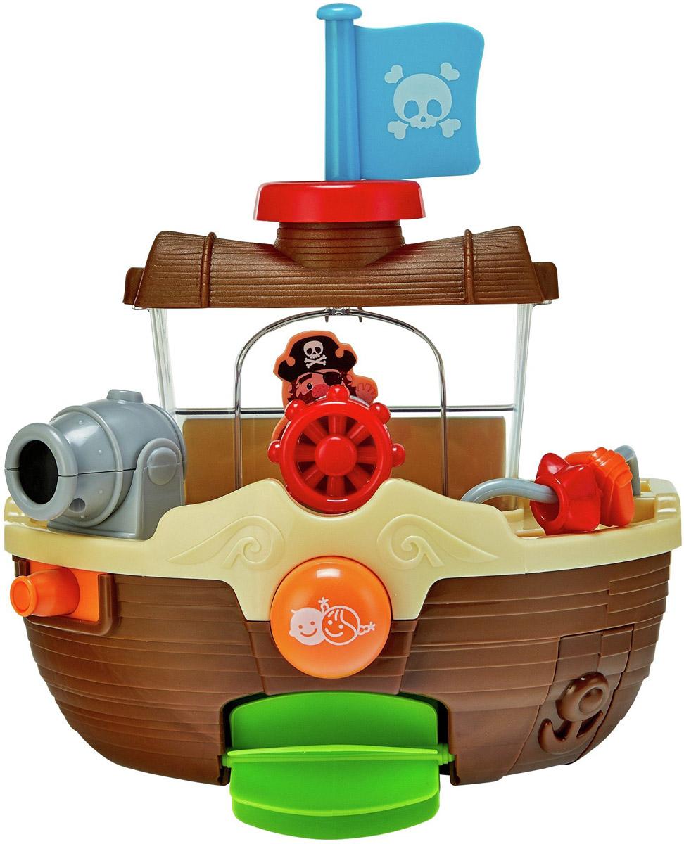 Playgo Игрушка для ванной Пиратский корабль 1932 игровые центры для малышей playgo центр для ванной забавный плот