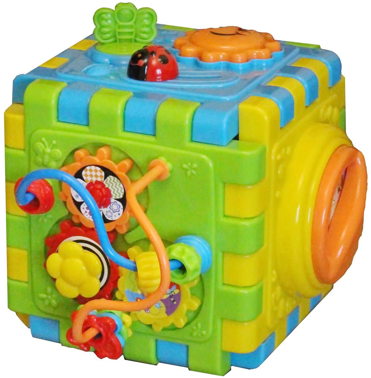 Playgo Развивающая игрушка Развивающий куб 2144