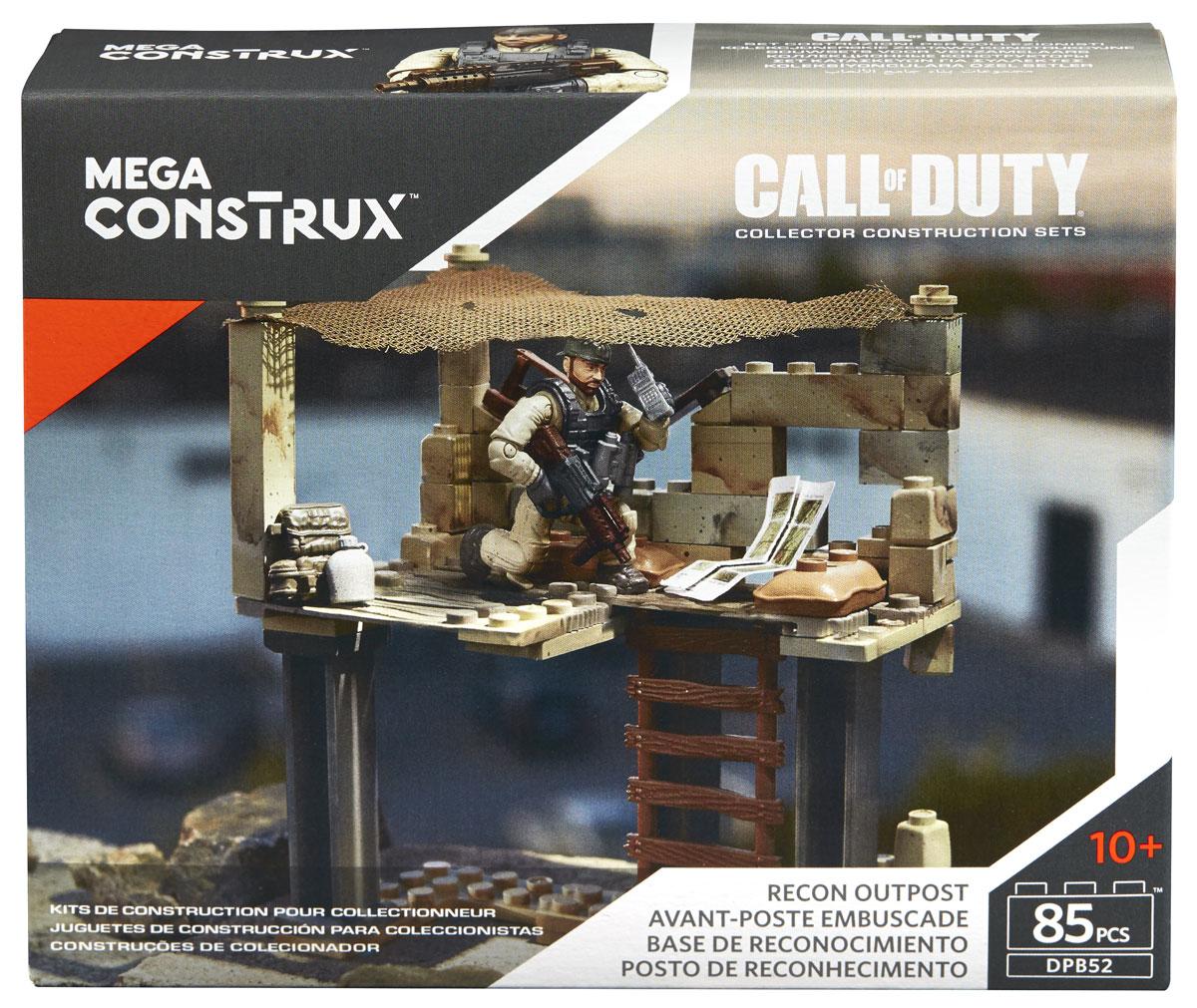 Mega Bloks Call Of Duty Конструктор Штурмовой удар mega bloks call of duty конструктор ghost rappel fighter