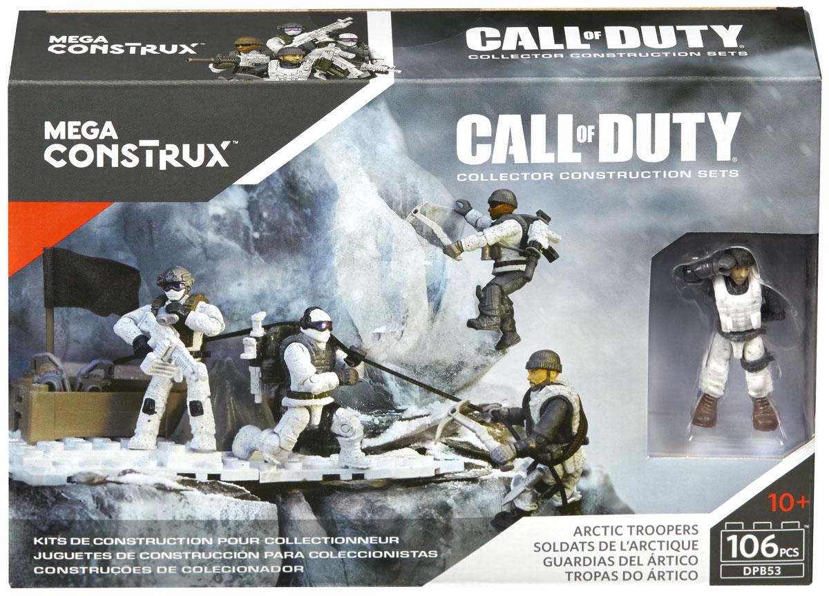 Mega Bloks Call Of Duty Конструктор Арктические войска mega bloks call of duty конструктор ghost rappel fighter