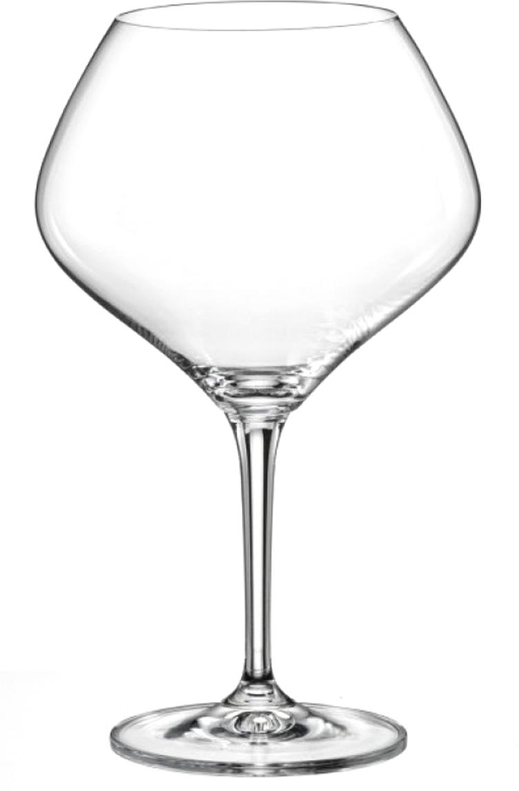 Набор бокалов для вина Bohemia Crystal Аморосо, 470 мл, 2 шт40651/470/2Набор бокалов для вина Amoroso поможет удобно пить этот напиток и правильно подавать его на стол на праздники. Всего в комплект включено два изделия. Форма привычная круглая. Стоят бокалы на тонких и изящных ножках. Они прочно прилегают к поверхности, не скользят по ней. Богемское стекло, из которой разработана основная часть, выглядит стильно и прослужит долгие годы. На нём сложно оставить царапины, любые загрязнения быстро вытираются.