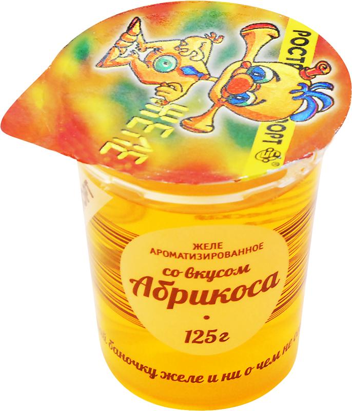 Ростагроэкспорт Желе Абрикос, 125 г ростагроэкспорт желе абрикос с фруктами 150 г