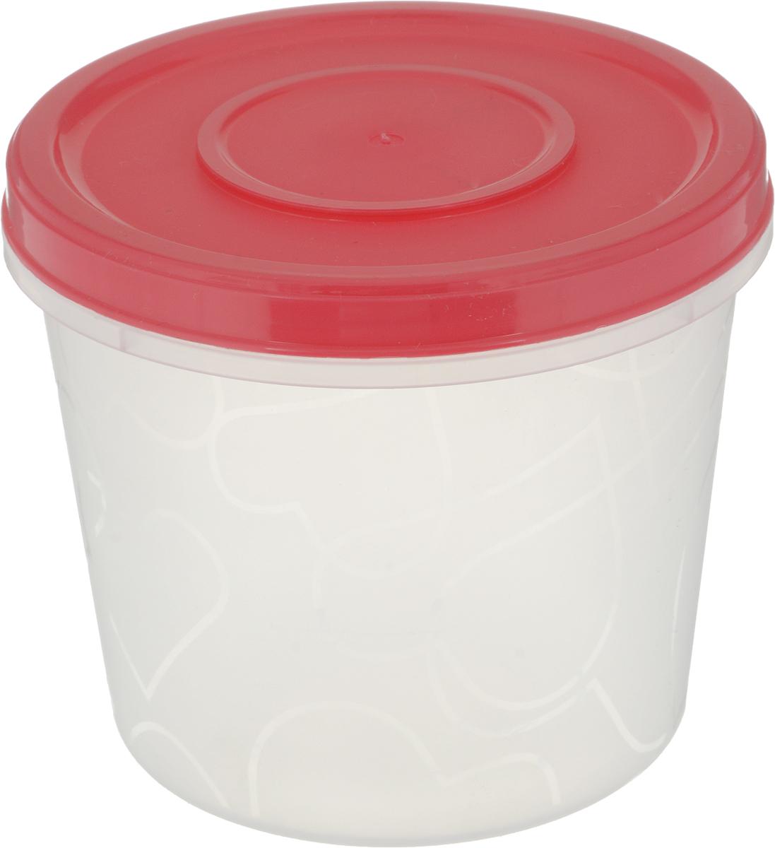 Емкость для продуктов Giaretti, с завинчивающейся крышкой, цвет: коралловый, 700 млGR1888_коралловыйЕмкость для продуктов Giaretti, с завинчивающейся крышкой, цвет: коралловый, 700 мл