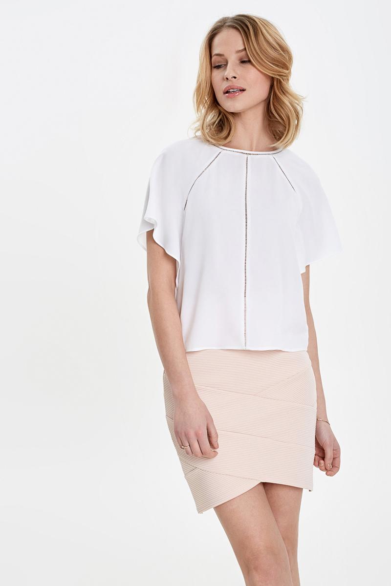 Блузка женская Concept Club Agat, цвет: белый. 10200270168_200. Размер XL (50) блузка quelle concept club 1034758