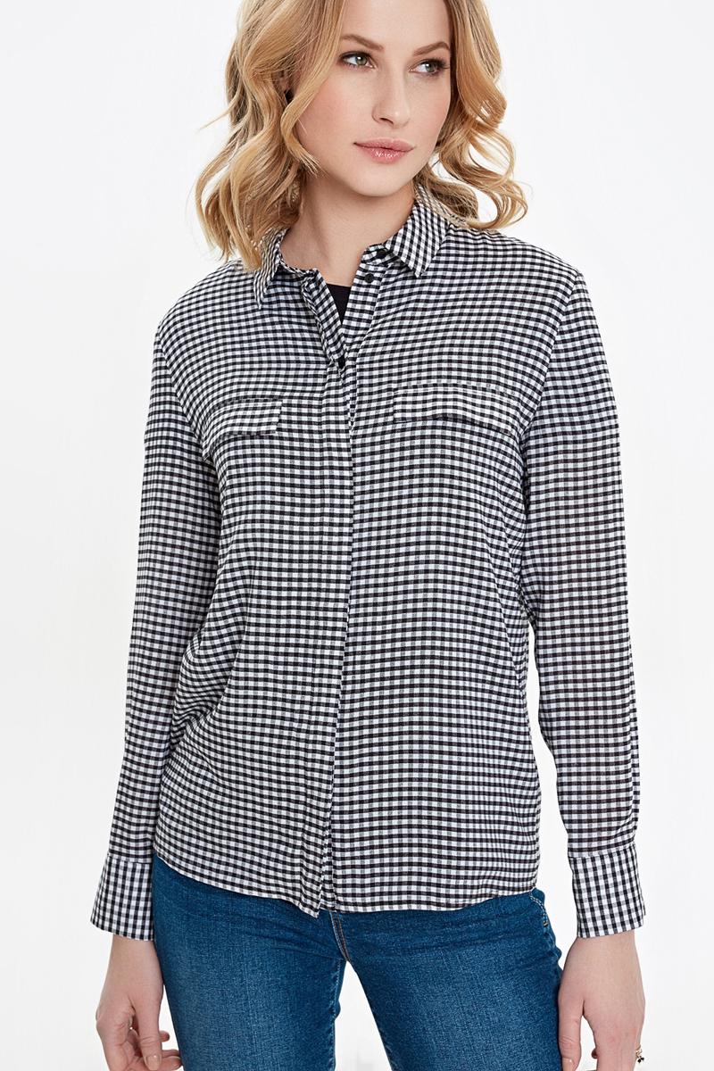 Рубашка женская Concept Club Alto, цвет: черный. 10200260242_4400. Размер  (48)