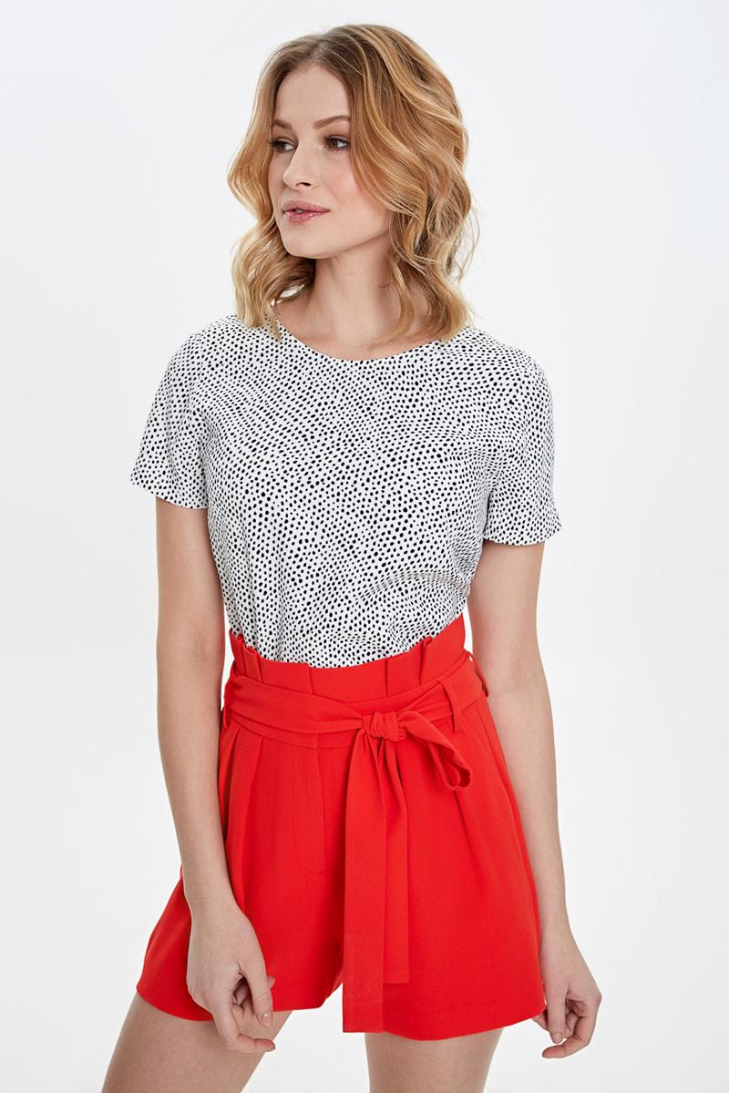 Блузка женская Concept Club Lolly, цвет: белый. 10200270171_9000. Размер XL (50) блузка женская concept club diany цвет белый 10200270181 200 размер xl 50