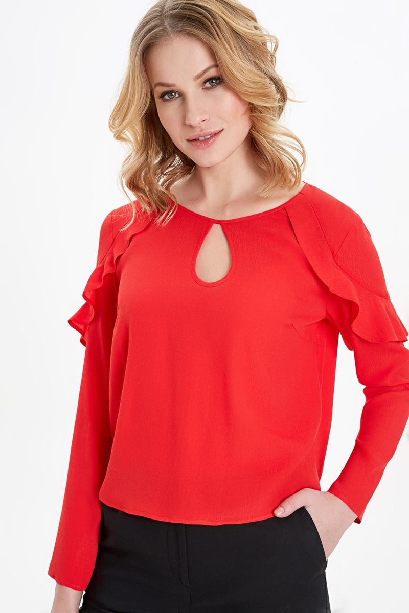 Блузка женская Concept Club Roffy, цвет: красный. 10200260241_1500. Размер XL (50) блузка quelle concept club 1003868